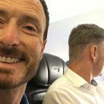 345 Team on a plane