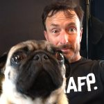 Andrew and Pug