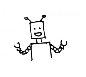 Picture of a friendly chat bot