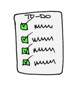 Checklist - All Green