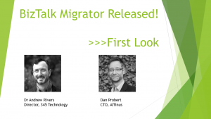 BizTalk Migrator Released - First Look - Splash Screen